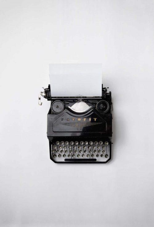 contenido maquina de escribir